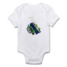 Wheelchair and Crutches Infant Bodysuit