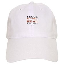 Oscar Wilde Quote on Acting Baseball Cap