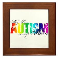 My Son My Hero - Autism Framed Tile