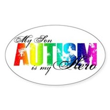 My Son My Hero - Autism Decal