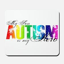 My Son My Hero - Autism Mousepad