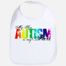 My Son My Hero - Autism Bib