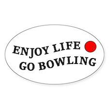 Enjoy Life Go Bowling Decal