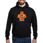 Robot DJ Hoodie (dark)