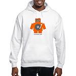 Robot DJ Hooded Sweatshirt