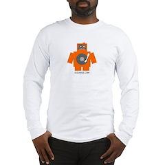 Robot DJ Long Sleeve T-Shirt