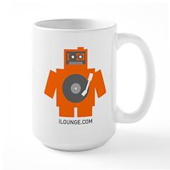 Robot DJ Mug