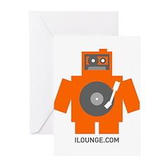 Robot DJ Greeting Cards (Pk of 10)