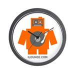 Robot DJ Wall Clock