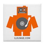 Robot DJ Tile Coaster
