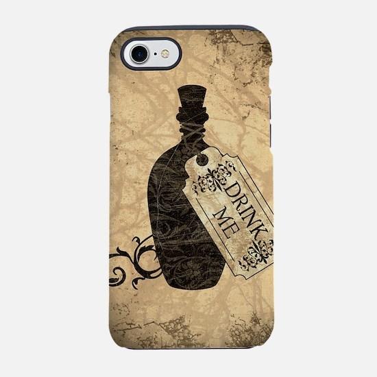 drink-me-bottle_square.jpg iPhone 7 Tough Case