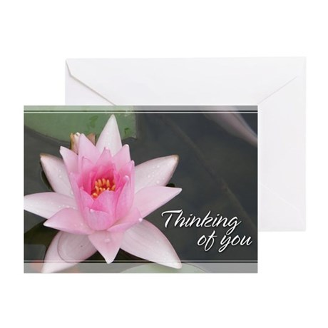 Lotusflower Thinking of You Cards 5x7 (20 Pk)