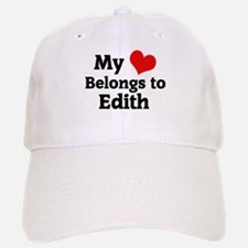 My Heart: Edith Baseball Baseball Cap