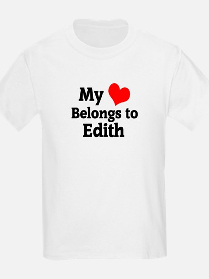 My Heart: Edith Kids T-Shirt