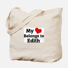 My Heart: Edith Tote Bag