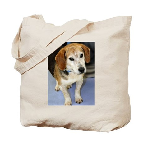Senior Beagle Photo Tote Bag