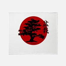 Bonsai Throw Blanket