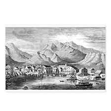 Old Honolulu Harbor Postcards (Package of 8)