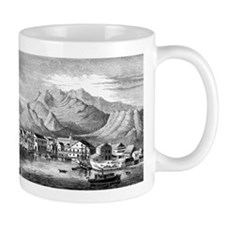 Old Honolulu Harbor Mug