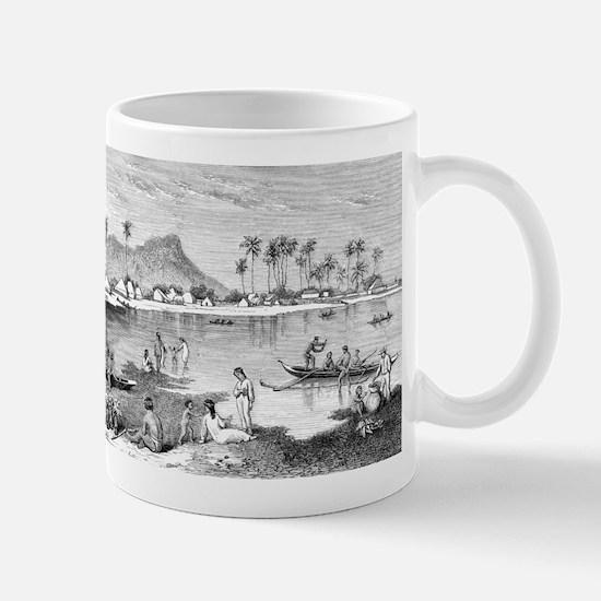 Old Waikiki Mug