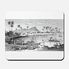 Old Waikiki Mousepad