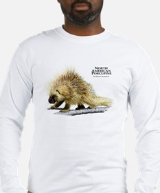 North American Porcupine Long Sleeve T-Shirt