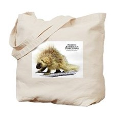 North American Porcupine Tote Bag