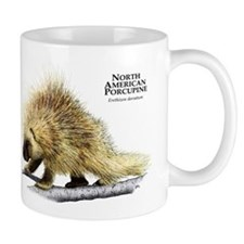 North American Porcupine Small Mug