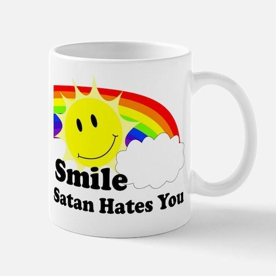 Smile Satan Hates You Mug