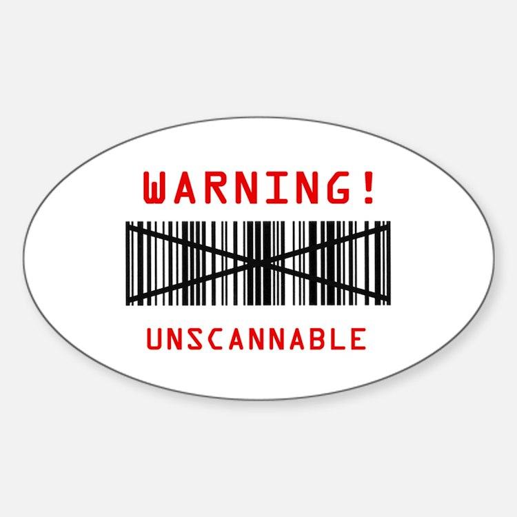 Unscannable Decal