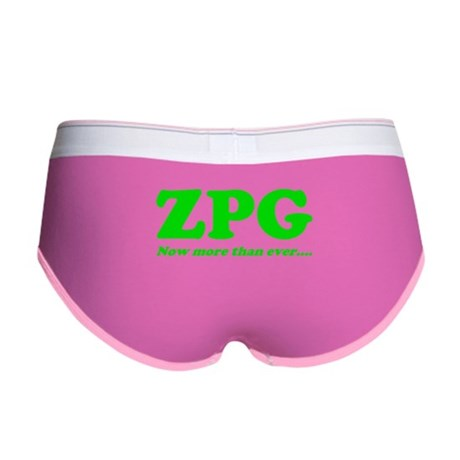 ZPG Women's Boy Brief