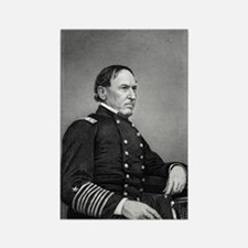 Admiral Farragut Rectangle Magnet