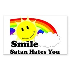 Smile Satan Hates You Decal