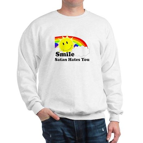 Smile Satan Hates You Sweatshirt