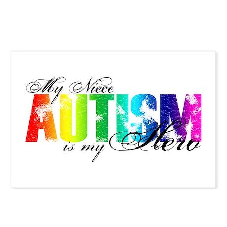 My Niece My Hero - Autism Postcards (Package of 8)