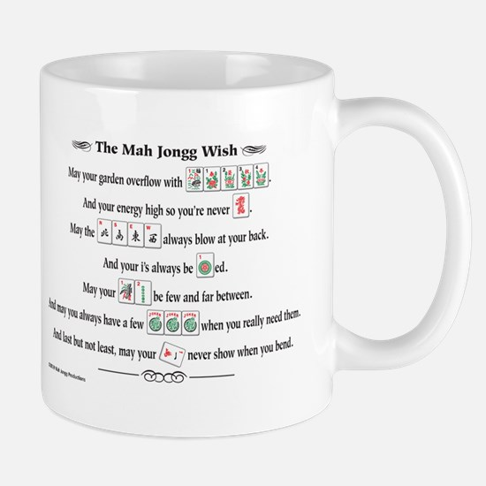 Mah Jongg Wish Coffee Mug