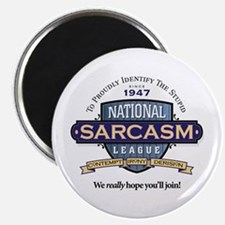 "National Sarcasm League 2.25"" Magnet (10 pack)"