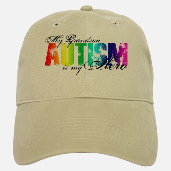 My Grandson My Hero - Autism Hat