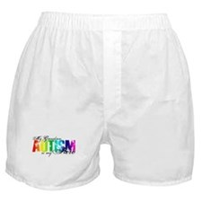 My Grandson My Hero - Autism Boxer Shorts