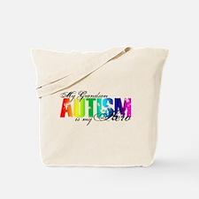 My Grandson My Hero - Autism Tote Bag