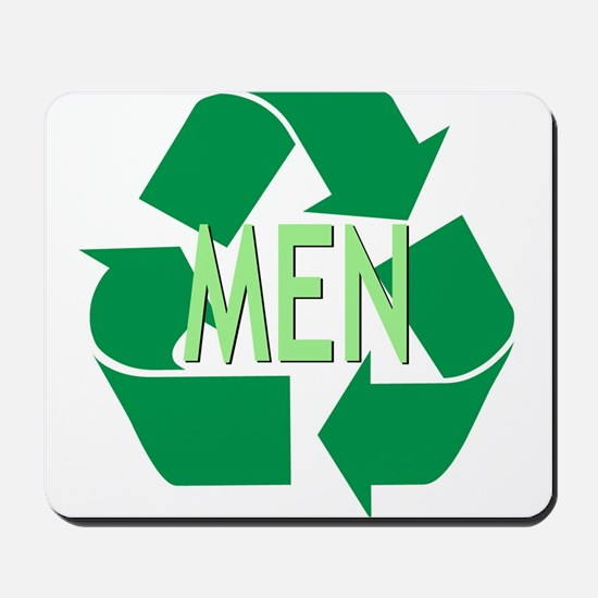 Recycle Men Mousepad