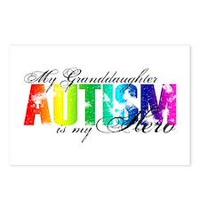 My Granddaughter My Hero - Autism Postcards (Packa