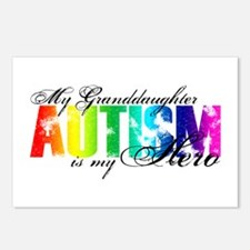 My Granddaughter My Hero - Autism Postcards (Packa