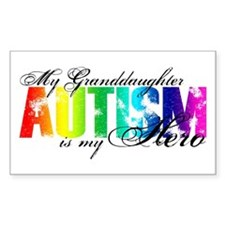 My Granddaughter My Hero - Autism Decal