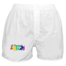 My Granddaughter My Hero - Autism Boxer Shorts