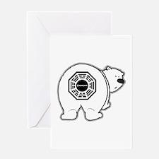 Dharma Bear Greeting Card