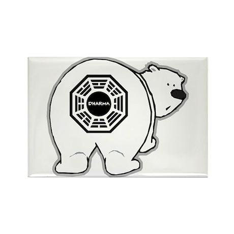Dharma Bear Rectangle Magnet (100 pack)