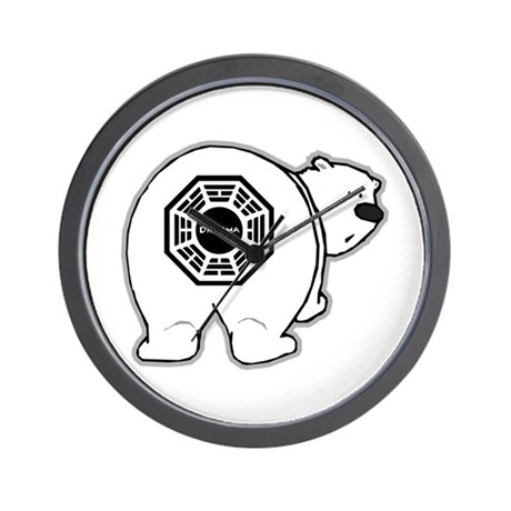 Dharma Bear Wall Clock
