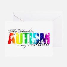 My Daughter My Hero - Autism Greeting Cards (Pk of