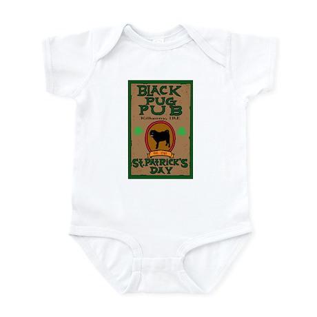 black pug pub shirt Body Suit